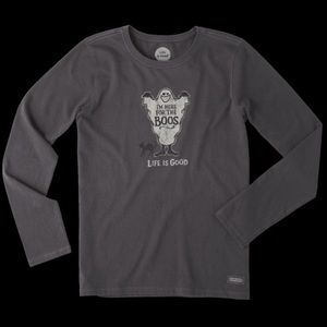 Life is Good NWT Halloween Here for the Boos Tee
